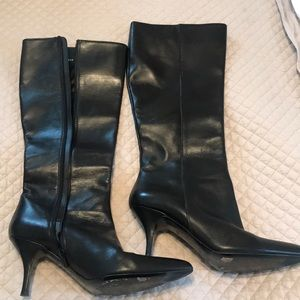 Cole Haan  Black knee high boots
